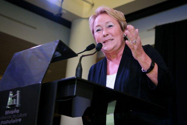 La première ministre Pauline Marois... (Photo Francois Gervais)