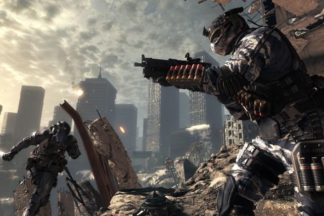 Image tirée du jeu Call of Duty....