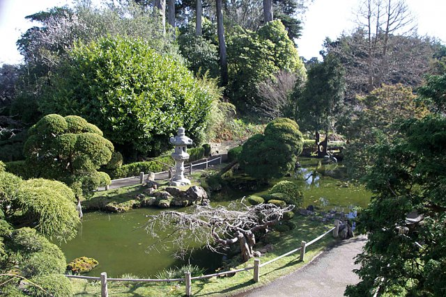 Les superbes jardins de san francisco larry hodgson for Jardin japonais tunis