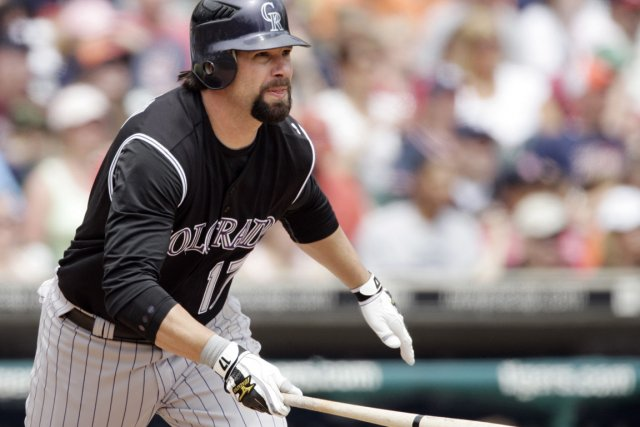 Todd Helton... (Photo Duane Burleson, archives Associated Press)