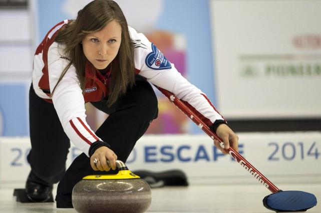 Rachel Homan, d'Ottawa, sera à surveiller lors des... (Photo Ryan Remiorz, La Presse Canadienne)