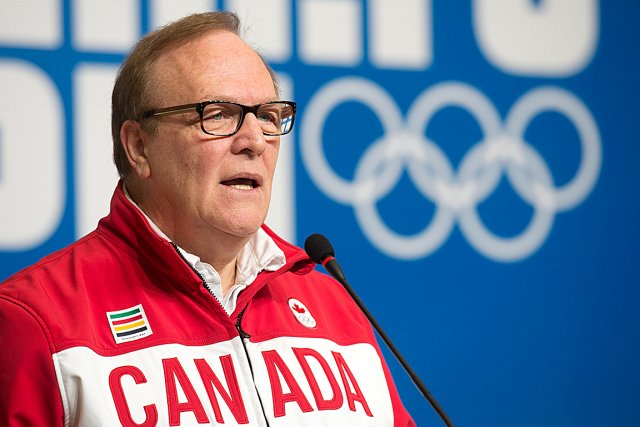 Le président du Comité olympique canadien, Marcel Aubut.... (Photo La Presse Canadienne)