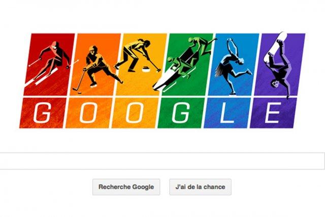 Tout clic effectué sur le logo Google renvoie... (Capture d'écran de Google)