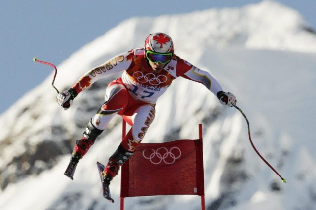 Erik Guay... (Photo Associated Press)