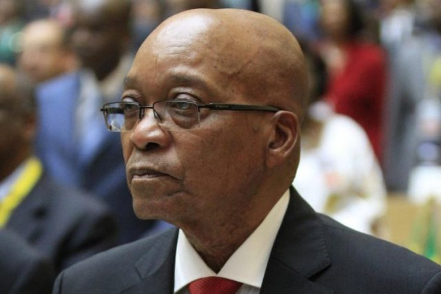 Jacob Zuma... (Photo Reuters)