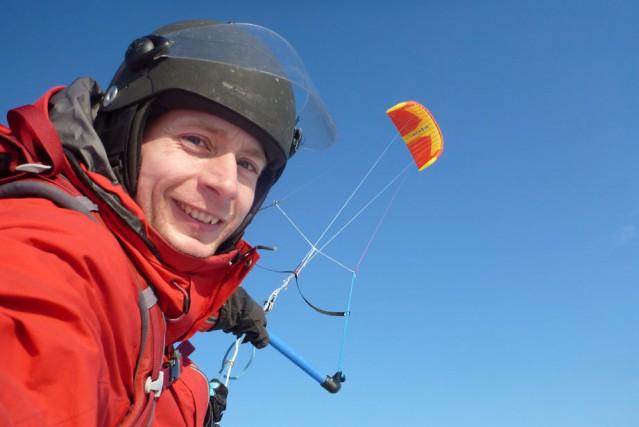 NDLR: L'aventurier Frédéric Dion souhaite atteindre le centre de l'Antarctique...