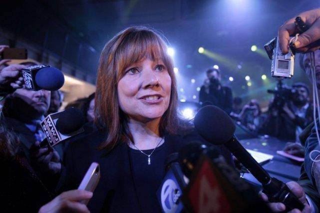 Mary Barra... (Photo Reuters)