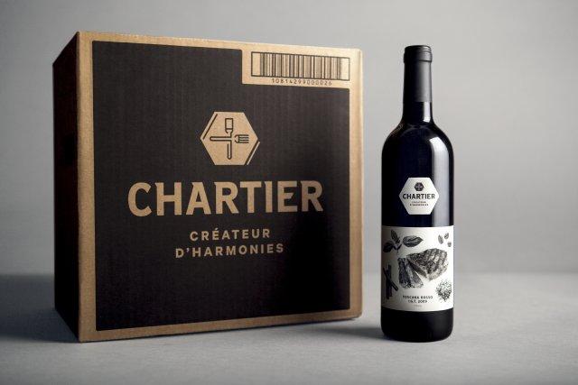 Le caractère innovateur de l'emballage de cette bouteille... (Photo fournie par Infopresse)