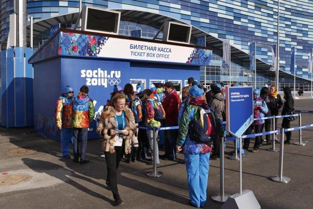 Les organisateurs des Jeux olympiques de Sotchi affirment que 80% des billets... (Photo Robert F. Bukaty, AP)