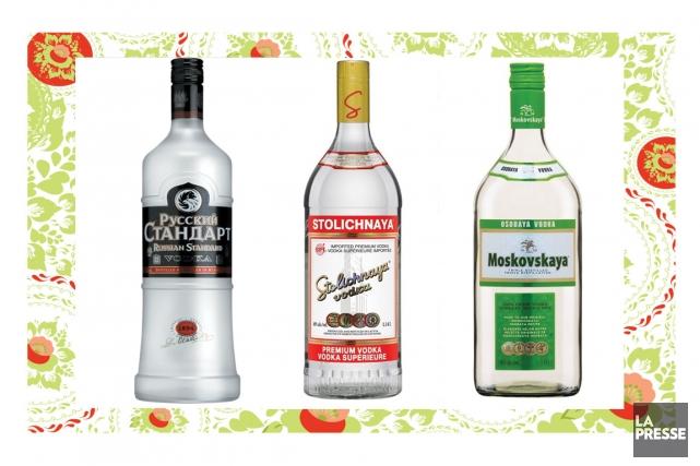 Les Russes raffolent de vodka. Ils ne sont pas les seuls: c'est le spiritueux... (Photomontage La Presse)