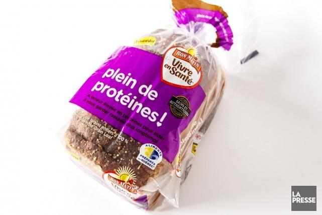 Ce pain ne contient que 1 g de protéines de plus par tranche qu'un pain de blé... (PHOTO OLIVIER PONTBRIAND, LA PRESSE)