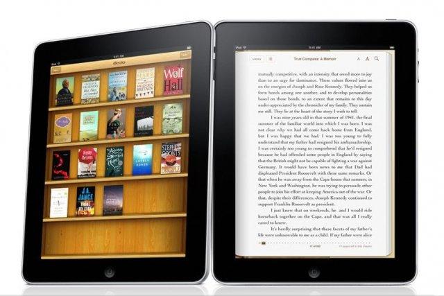 Quatre grands éditeurs ont signé «un consentement» avec... (Photo Apple)