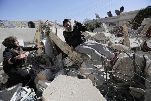 En 2013, les démolitions ont atteint leur plus... (PHOTO AMMAR AWAD, ARCHIVES REUTERS)