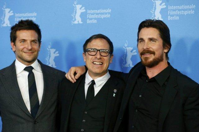 Christian Bale, David O. Russell et Bradley Cooper... (Photo: Reuters)
