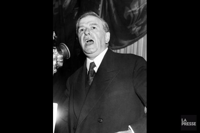 L'ancien premier ministre Maurice Duplessis.... (Photo Archives La Presse)