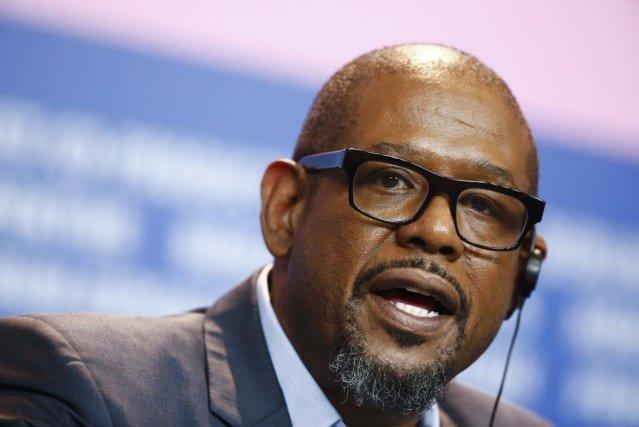 L'acteur Forest Whitaker lors de la conférence de... (Photo Thomas Peter, Reuters)