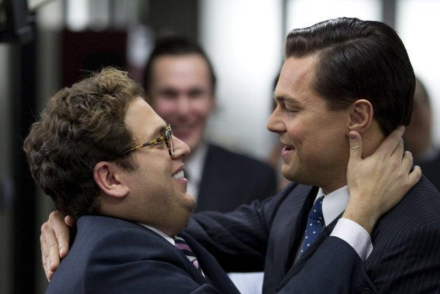 Jonah Hill et Leonardo DiCaprio... (Photo Paramount Pictures)