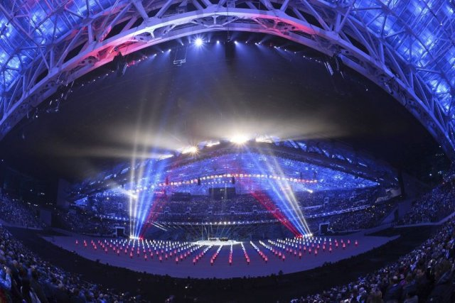 Pour le quotidienLibération(gauche), la cérémonie est «à la... (Photo Lionel Bonaventure, Agence France-Presse)