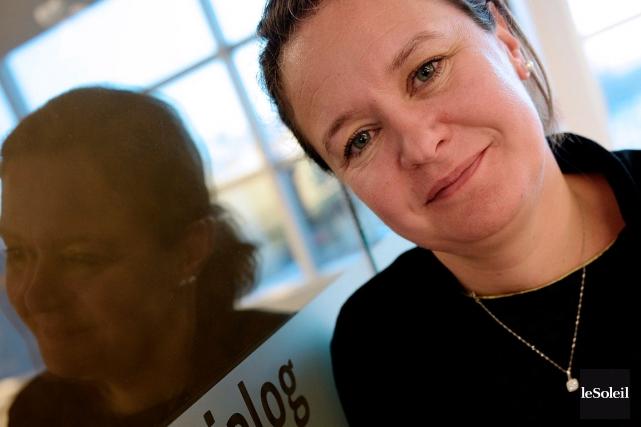 La cofondatrice et présidente de Dialog Insight, Pascale... (Photo Le Soleil, Erick Labbé)