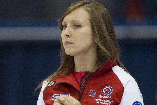 Rachel Homan... (Photo Graham Hughes, La Presse Canadienne)