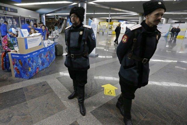 La sécurité à l'aéroport de Sotchi est un... (PHOTO ALEXANDER DEMIANCHUK, REUTERS)