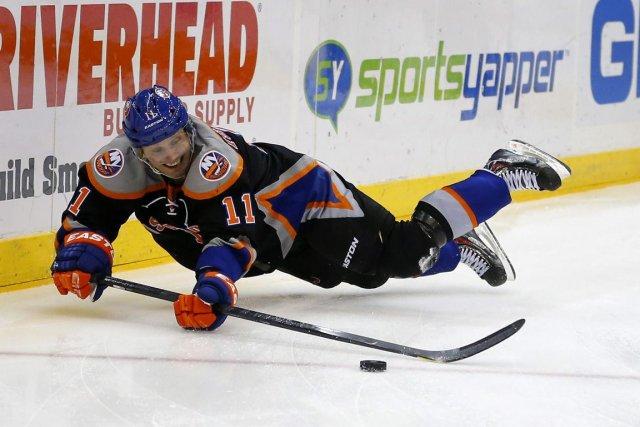 Lubomir Visnovsky porte les couleurs des Islanders de... (Photo : Paul J. Bereswill, AP)