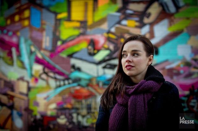 Viviane Audet... (PHOTO OLIVIER JEAN, LA PRESSE)