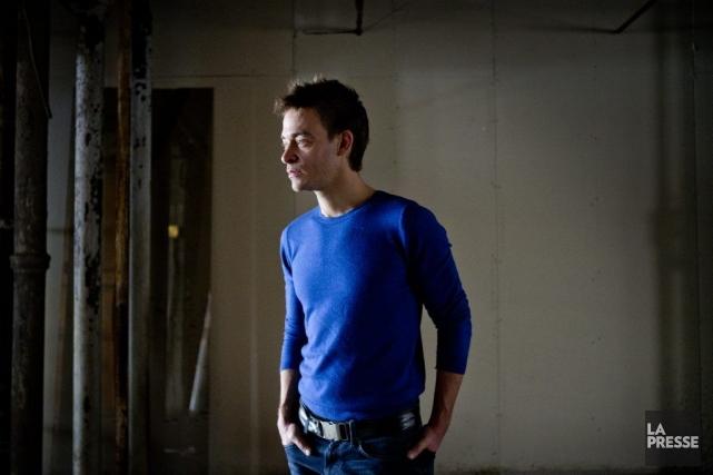 L'auteur, compositeur et interprète Alexandre Désilets.... (PHOTO MARCO CAMPANOZZI, LA PRESSE)