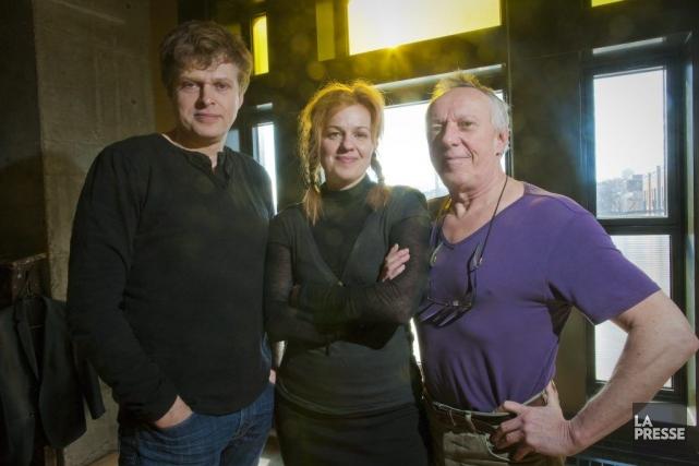 Réal Bossé, Sylvie Moreau et Jean Asselin.... (Photo André Pichette, La Presse)
