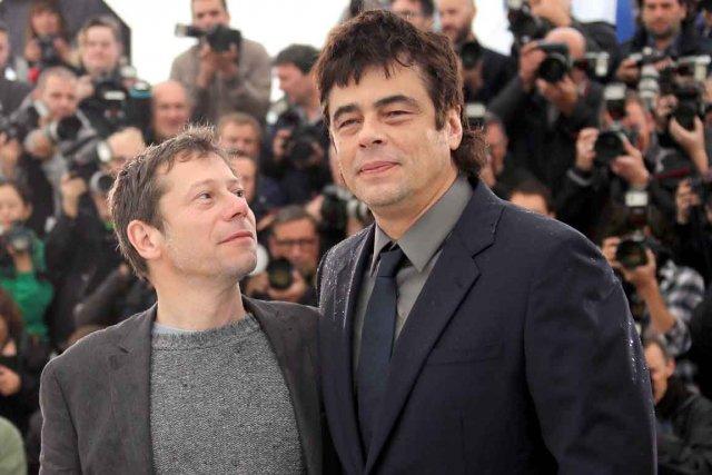 Benicio del Toro (à droite)et Mathieu Amalric, vedettes... (Photo AFP)