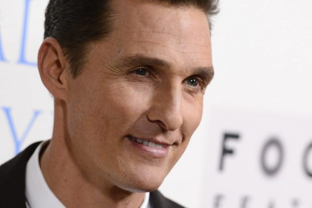 Matthew McConaughey... (Photo: archives AP)