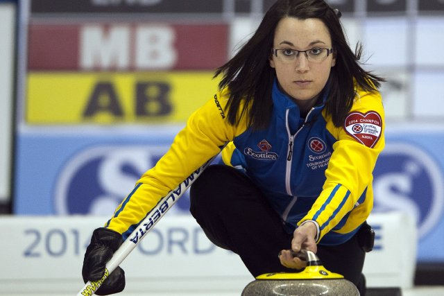 Val Sweeting fera face à la championne en titre... (Photo Ryan Remiorz, La Presse Canadienne)