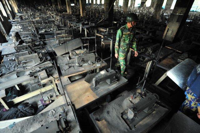 Cet incendie fut le plus meurtrier jamais survenu... (Photo AFP)