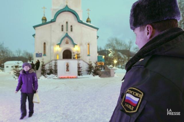 Le suspect, qui travaille comme agent de sécurité,... (PHOTO AFP)