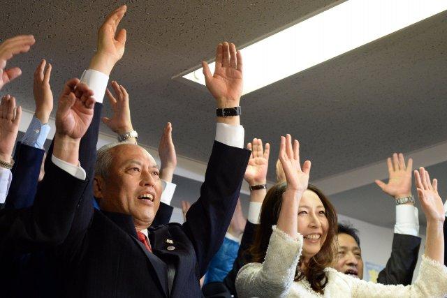 Yoichi Masuzoe,ex-ministre de la Santé, politologue et ancien... (Photo TOSHIFUMI KITAMURA, AFP)