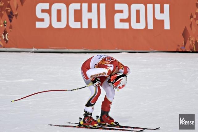 Le Québécois Erik Guay a terminé à 81... (Photo Bernard Brault, La Presse)
