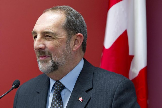 Le ministre Denis Lebel.... (PHOTO ALAIN ROBERGE, LA PRESSE)
