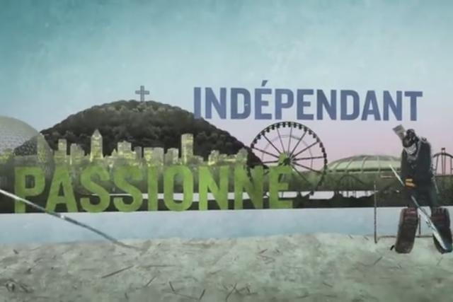 L'utilisation du mot indépendance, dans une nouvelle publicité du Parti... (Image tirée de la publicité)