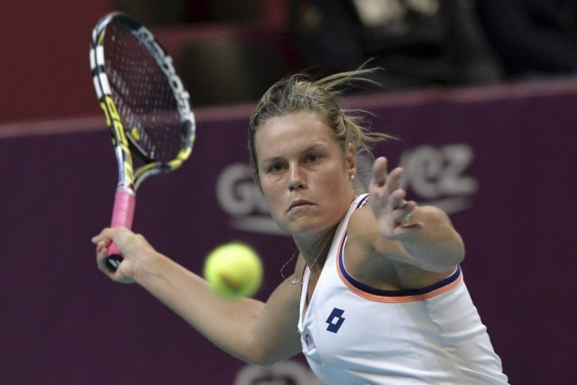 Karin Knapp... (PHOTO MIGUEL MEDINA, AFP)