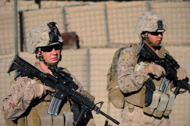 La plupart des militaires américains basés au Japon qui ont été reconnus... (Photo: AFP)