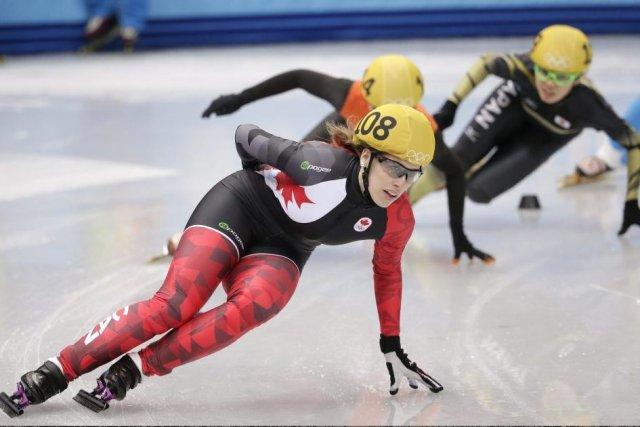 Marianne St-Gelais (photo) a terminé au premier rang... (Photo Bernat Armangue, AP)