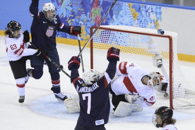 Les Américaines ont marqué trois buts en moins... (Photo Jonathan Nackstrand, AFP)