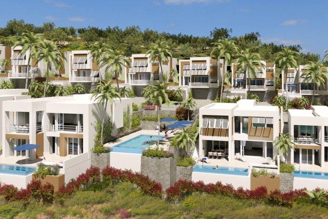 Le projet du Groupe Lépine comprend des villas... (PHOTO FOURNIE PAR LE GROUPE LÉPINE)