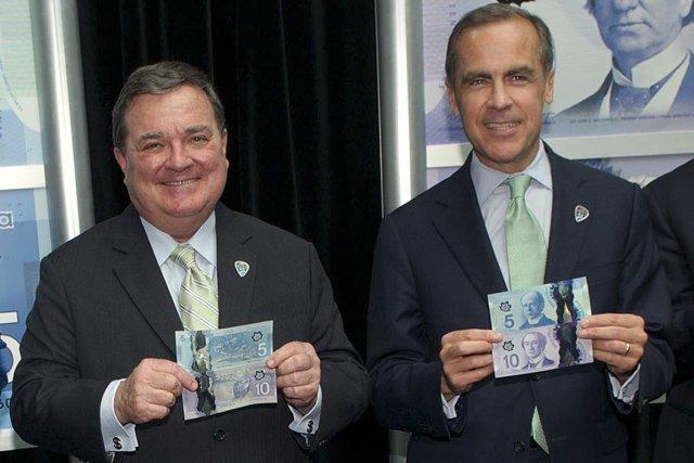 Le ministre des Finances du Canada, Jim Flaherty,... (PHOTO ARCHIVES, CNW)