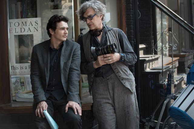 James Franco et Wim Wenders sur le plateau... (Photo: fournie par la production)