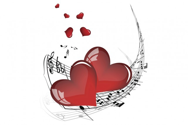 À la Saint-Valentin, l'ambiance musicale est encore plus importante que les... (Photo: Digital Vision/Thinkstock)