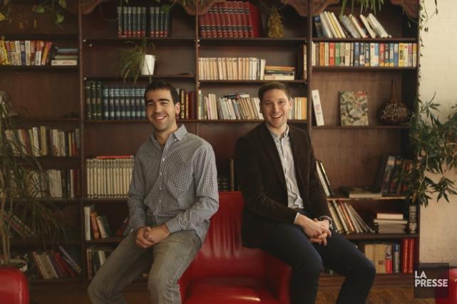 Benoît Archambault et Félix Morin ont fondé Succès... (PHOTO MARTIN CHAMBERLAND, LA PRESSE)