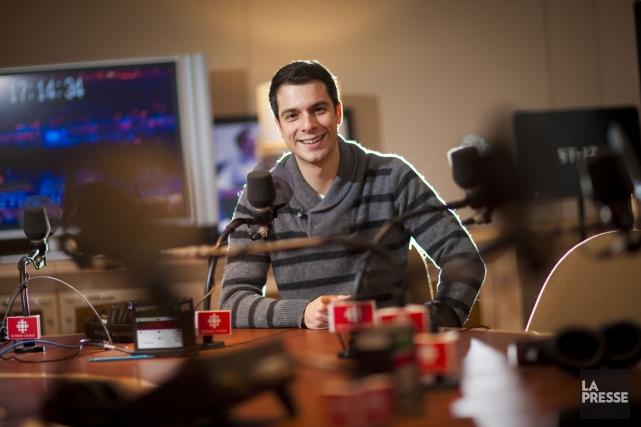 Dominic Brassard travaille à Radio-Canada depuis 2006.... (PHOTO ANDRÉ PICHETTE, LA PRESSE)
