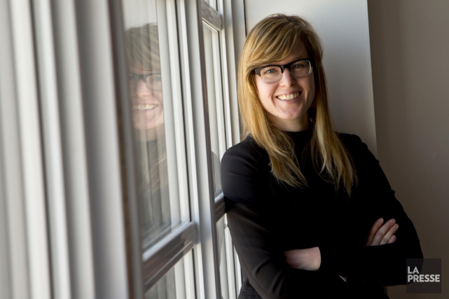 La consultante en marketing et technologie Julie Lemonde... (PHOTO ALAIN ROBERGE, LA PRESSE)