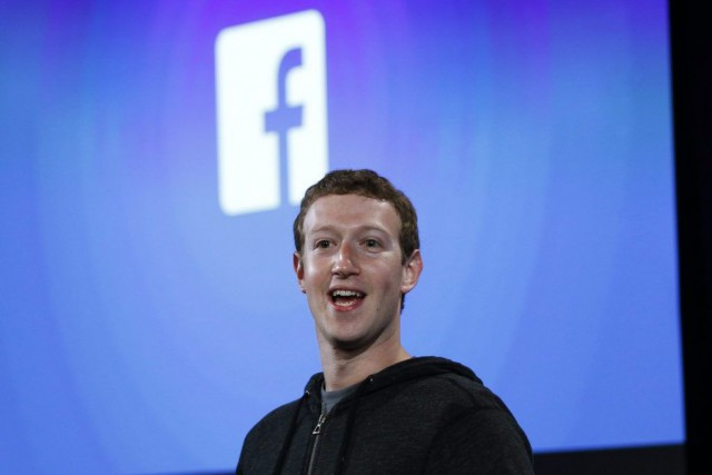 Le PDG et fondateur de Facebook Mark Zuckerberg.... (PHOTO ROBERT GALBRAITH, REUTERS)